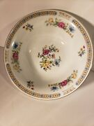 Liling Fine China Yung Shen Ling Rose 9 Inch Vegetable/soup Serving Bowl