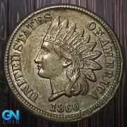1860 Indian Head Cent Penny -- Make Us An Offer K5937