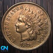 1876 Indian Head Cent Penny -- Make Us An Offer K5939
