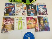 Zumba Fitnes Fit Sports Dance Party Bowling Belt Bundle Nintendo Wii Video Game