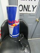 Red Bull Energy Drink Lighted Sign Can Advertising Bar Display Man Cave