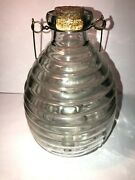 Antique / Vintage Bee Hive Style Fly, Wasp, Insect Catcher / Trap - Glass