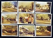 1968 Vintage Exploded Gas Station Rutherford Nj Lot Of 9 Photo