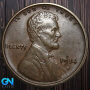 1914 S Lincoln Cent Wheat Penny -- Make Us An Offer K5949