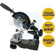 Multi-angles Automatic Chainsaw Sharpener Bench Mounted Saw Chain Grinder