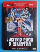 Movie Horror L'ultima Mansion In Left The Last House On 2 Dvd Rare