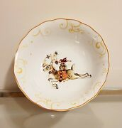 Williams Sonoma Twas The Night Before Christmas Large Reindeer Serving Bowl New