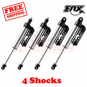 Fox Shocks Fr 4-6 And R 4.5-5.5 Lift For Ford F450 Cab Chassis/utility 2008-16