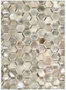 Nourison 8and039 X 10and039 Michael Amini City Chic Silver Rectangle Area Rug