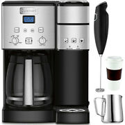 Cuisinart Ss-15 12-cup Coffee Maker And Single-serve Brewer With Coffee Drinker