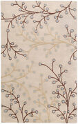 Surya Ath-5008 Athena Transitional Hand Tufted - Wool Gray Area Rugs