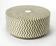 Butler Modern Lucy Round Coffee Table With Gray Finish 5247321