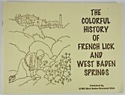 Colorful History French Lick And West Baden Springs Hotel Indiana Coloring Book