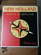 Rare Vintage New Holland Pa Sperry Rand Tractor Farm Clock Sign In Original Box