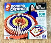 Spin Master H5 Domino Creations 100-piece Classic Set By Lily Hevesh Family Game
