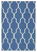Nourison 10and039 X 13and039 Home And Garden Navy Indoor/outdoor Rectangle Area Rug