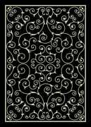 Nourison 10and039 X 13and039 Home And Garden Black Indoor/outdoor Rectangle Area Rug
