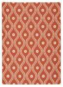 Nourison 10and039 X 13and039 Home And Garden Rust Indoor/outdoor Rectangle Area Rug