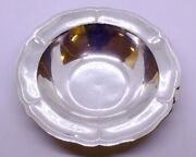 Vintage L. Maciel Mexican 925 Sterling Silver 7.5 Candy/nut Dish Bowl Mexico