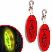 Floating Keychain By Crystal Fish - Practical Key Chains For Boats – Red