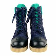 Razor Suede Lace-up Boots High-cut Sneakers Free Shipping No.8056