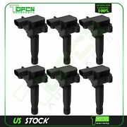 For Ford F150 Truck Fusion Edge Lincoln Mkx V6 2.7l Uf773 6pcs Of Ignition Coil