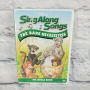 Disney Sing Along Songs The Bare Necessities Jungle Book Dvd