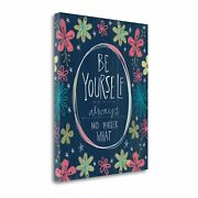 Tangletown Fine Art Be Yourself By Katie Doucette Wall Art Sbka1215-3240c