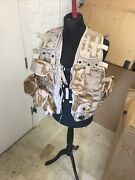 British Army Tactical Vest Load Carrying Platform Molle Desert Dpm With Pouches