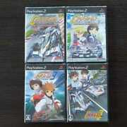 Ps2 Set Of 4century Gpx Cyber Formula