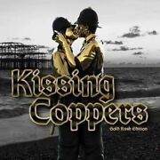 Kissing Coppers Mighty Jaxx Banksy Quissing Figure Gold Rush Ver. Postage
