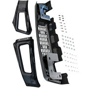 Front Bumper Grille Assembly Kit For Ford F-150 F150 2015-2017 Painted Gray