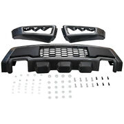 Front Bumper Grille Assembly Kit Replacement For Ford F150 2015-2017