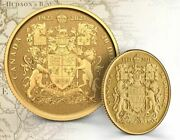 2021 Canada 20 Gold Coin Coat Of Arms Custom Finish 1/10 Oz 20mm