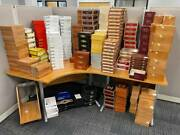 Cigar Boxes Collection Empty Cigar Boxes From Ashton, Cohiba, Oliva And More.