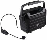 Portable Mini Bluetooth Pa System With Wireless Headset Microphone 30w Personal