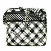 Lunch Box Shoulder Bag Black White Gray A49933 Women And039s Exhibit No.2690