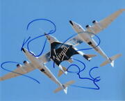 Richard Branson Signed Autograph 8x10 Photo - Virgin Galactic And039s Unity Spaceship