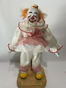 1988 Ringling Bros And Barnum Bailey Circus Music Box Clown Willitts Limited /9500