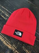 The Dock Worker Recycle Tnf Red/black Winter Sb Beanie Hat Os