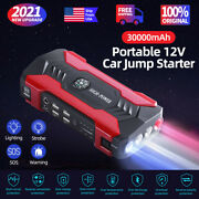 Jump Starter Portable Car Battery Pack 12v Auto Battery Charger Booster Jumper