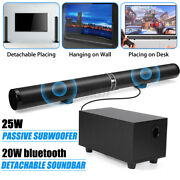 45w Portable Wireless Bluetooth Speakers Surround Stereo + Subwoofer For Tv T