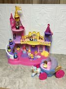 Fisher Price Little People Disney Princess Musical Dancing Palace Castle And Coach