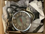 Oldsmobile Electric Panel Clock With Glove Compartment Light General Motors