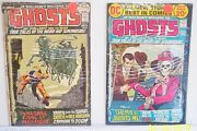 Dc Ghosts Comic Books 5 And 6 Lot Of Two Collectibles June And August 1972