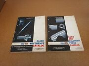 1949-1964 Ford Quick Reference + Body Parts Catalog Manual Truck Car Fairlane