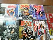 Lot Of 6 Vtg 1999 Heavy Metal Magazines Graphic Novels Xlnt Used Condition Nice
