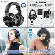 Headphones Over Ear 80h Stereo With Bluetooth 5.0 Wireless For Ios And Android