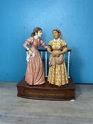 The San Francisco Music Box Gone With The Wind Ainand039t Birthinand039 No Babies Figurine
