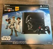 Playstation 4 Darth Vader Edition - Infinity, Og Controller, Turtle Beach, Game